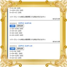 9/13 江戸川JLC杯 的中舟券