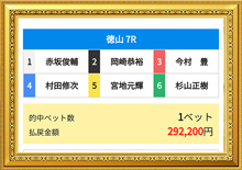 9/24 G1ダイヤモンドカップ 的中舟券