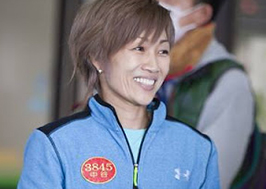 中谷朋子選手の特徴